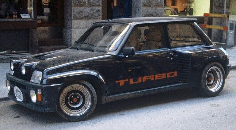 Renault 5 Laureate Turbo - Renault
